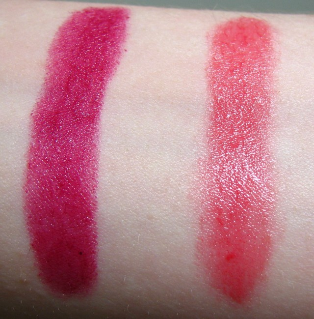 Artificial light swatches