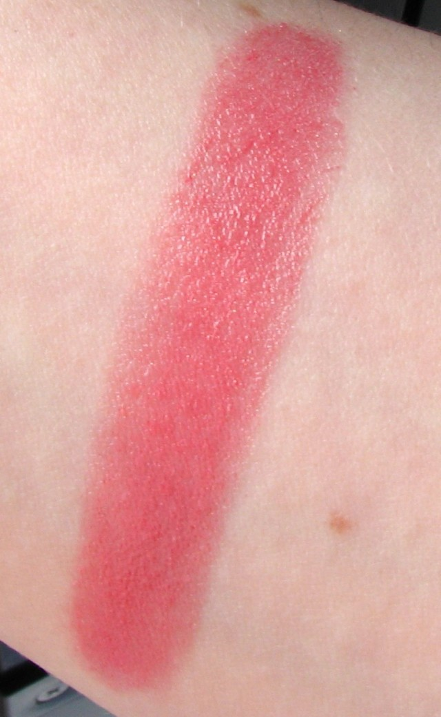 swatch of Chanel Rouge Coco Charme
