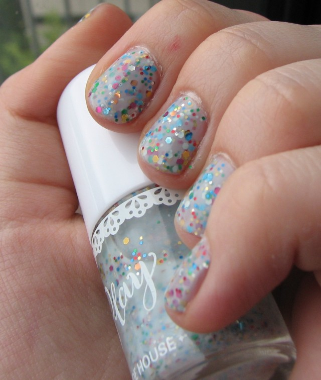 Rainbow Milk? Etude House Play Nail Polish in #113 | The Painted Rogue