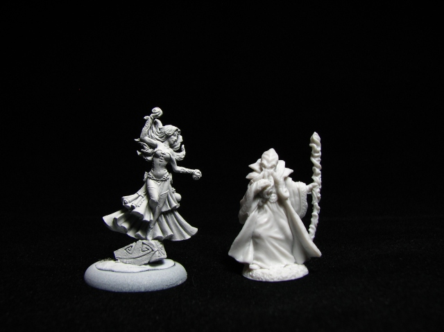 Guild of Harmony Sorceress and Reaper Bones Mindflayer