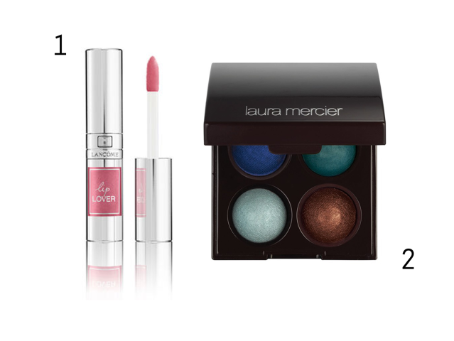 Lancome Lip Lover, Laura Mercier Spring 2014 eyeshadow palette