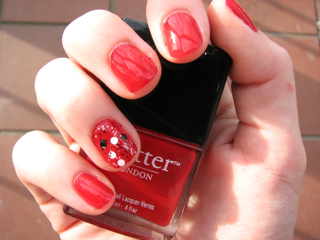 IMGButter London Come to Bed Red review swatch