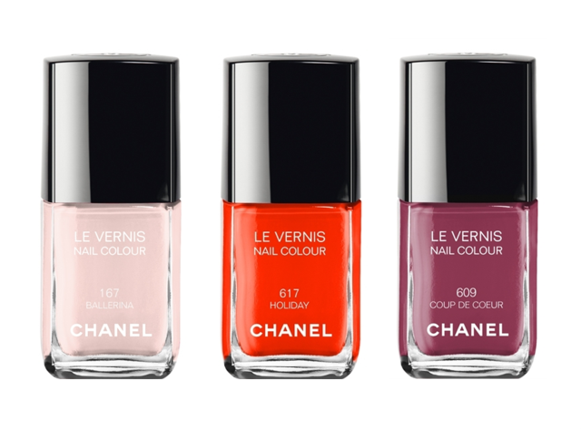 April Wishlist: Chanel Nail Polishes in Ballerina, Holiday and Coup de Coeur