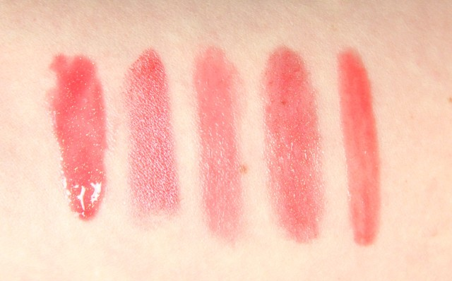 Top 5 Catacomb Clearing Corals - favourite coral lipsticks swatches and review