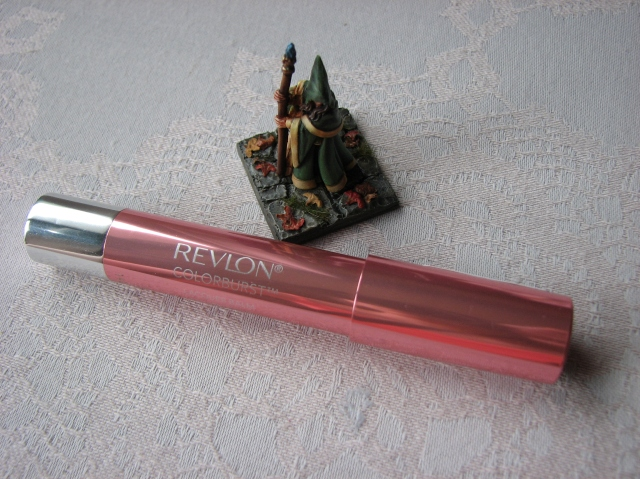 Revlon Colorburst Lacquer Balm in Demure Lip Swatch and Review