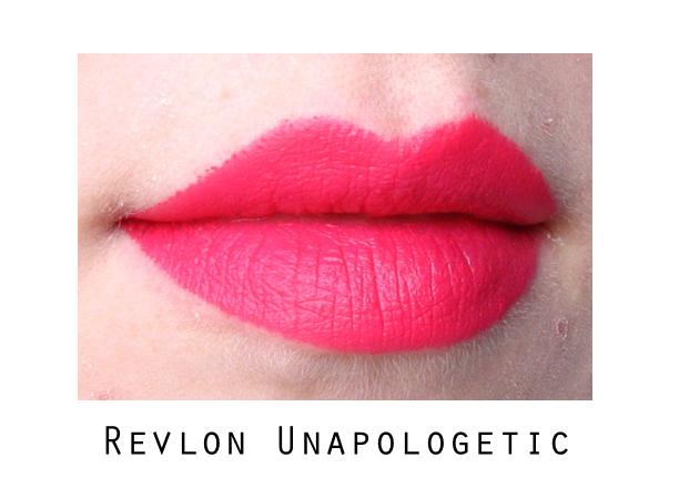 Revlon Colorburst Matte Balm Unapologetic Shameless Lip Swatch