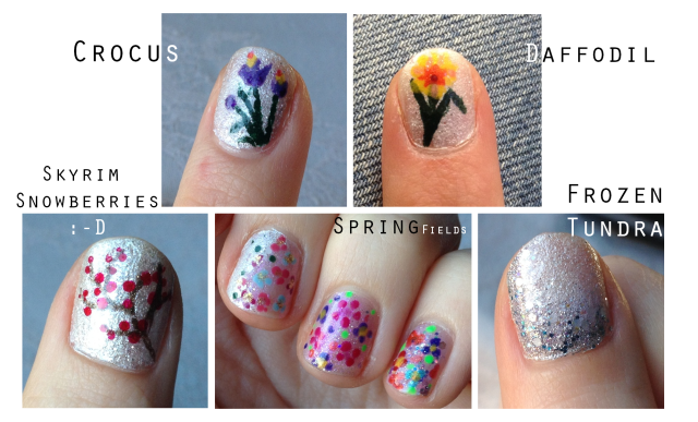 Spring Inspired Friendship Manicure