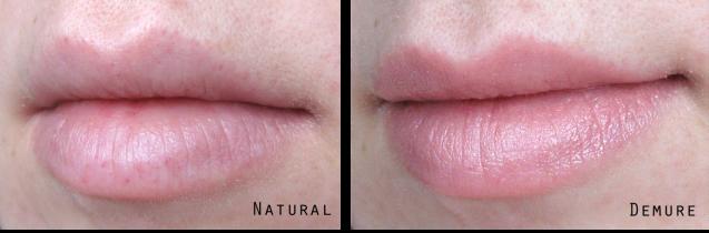 Revlon Colorburst Lacquer Balm in Demure Lip Swatch