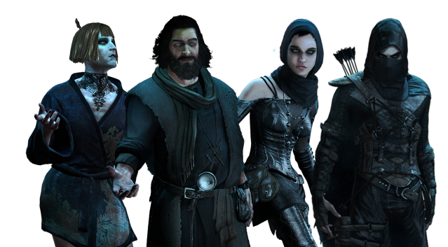Characters from Thief 4