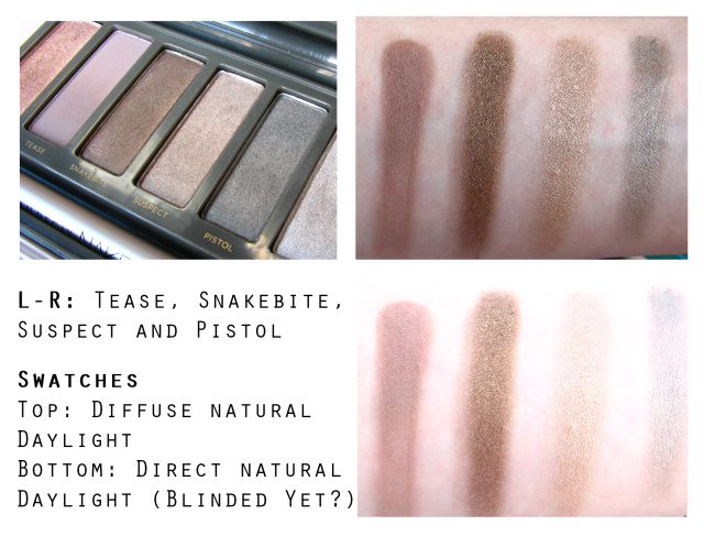 Urban Decay Naked 2 Palette Review and Swatches