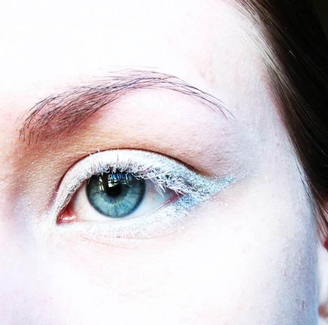 Makeup Collaboration Gandalf inspired eye makeup look