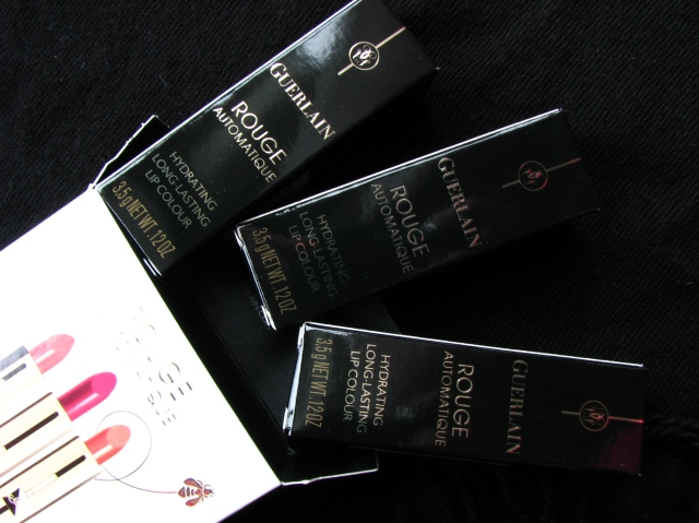 Guerlain Rouge Automatique Travel Exclusive Set (Nahema, Roselip, Champs Elysees)