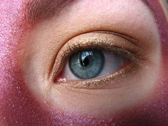 Baldur's Gate Minsc Inspired Eyeshadow Look