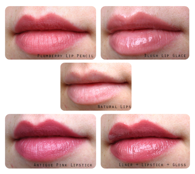 Sigryn and the Laura Mercier Creme Pinks Set (Secret Volume #6) swatches and review