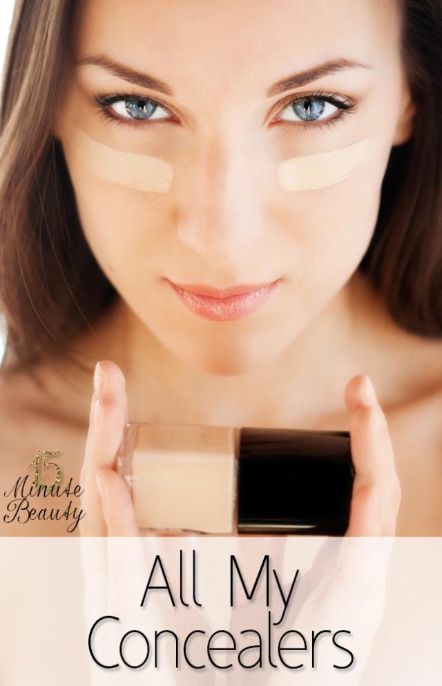 Beauty Spotlight Team 15 Minute Beauty favorite-concealers