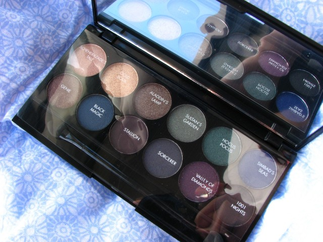 Sleek Arabian NIghts Eyeshadow Palette Review and Swatches