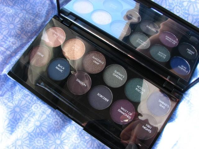 Sleek Arabian NIghts Eyeshadow Palette Review and Swatches