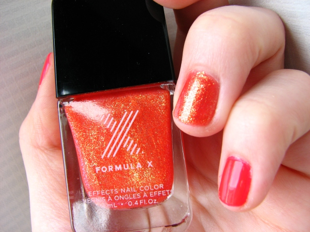 Nailstation Paris Coeur de Paris swatch and review Formula X Sephora Magma Review and swatch