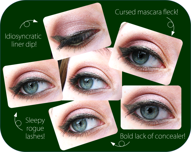 Eye Makeup Looks with Sleek Storm and Sleek Arabian NIghts