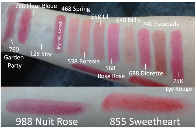 Rouge Dior Baume lipsticks all swatches NZ Cold Light