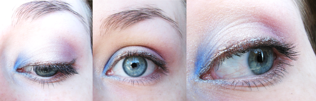 Alice in Wonderland Eye Makeup Simple Pretty