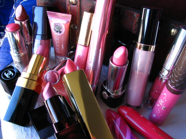 A few favourite MLBB pink lipsticks